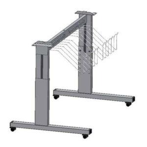 ROWE VarioFold Compact -seisontajalat (säädettävät 810 mm – 1010 mm)