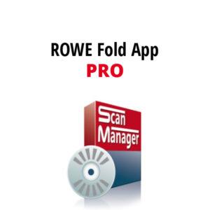 ROWE FOLD APP PRO -ohjelmisto