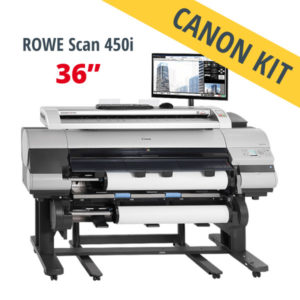 Canon imagePROGRAF scanner MFP – ROWE Scan 450i Canon KIT