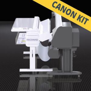 Taittokone Canon-suurkuvatulostimiin – ROWE VarioFold Canon Inline KIT