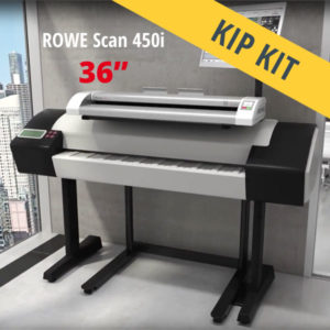 KIP scanner MFP – ROWE Scan 450i KIP KIT