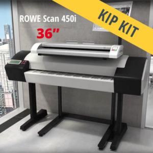KIP scanner MFP – ROWE Scan 450i KIP KIT