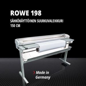Suurkuvaleikkuri ROWE 198 (150 cm, sähkökäyttöinen)