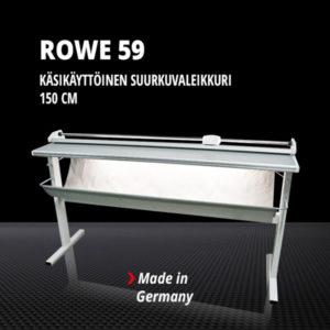 Suurkuvaleikkuri ROWE 59 (150 cm, manuaalinen)