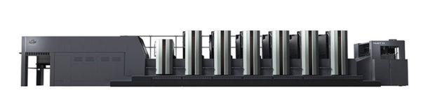 Pakkauspainokone RMGT 1050 LX-side