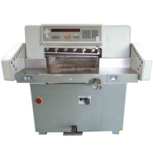 Used Polar 55 EM guillotine, year 1986