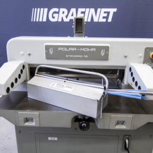 Used Polar 72 guillotine, year 1982