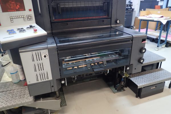Heidelberg offset printing machine - delivery2