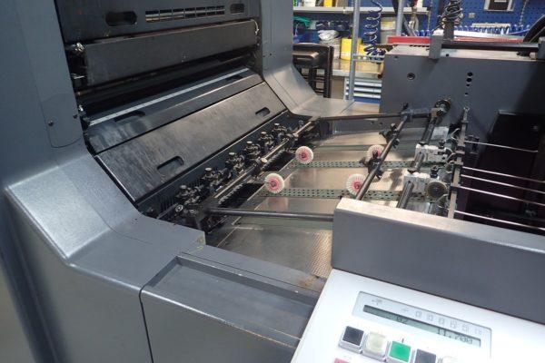 Heidelberg offset printing machine - infeeder