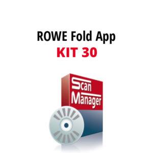 ROWE FOLD APP KIT 30 -ohjelmisto