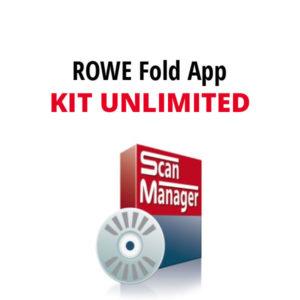 ROWE FOLD APP KIT Unlimited -ohjelmisto