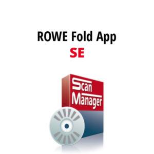 ROWE FOLD APP SE -ohjelmisto