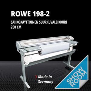 Esittelylaitte ROWE 198-2 (200 cm, sähkökäyttöinen)