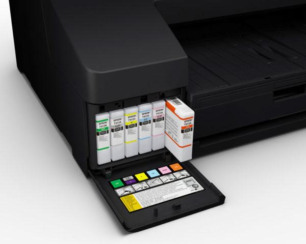 Vedostustulostin-Epson-SureColor-SC-P5000-STD-Spectro-värit-vasen